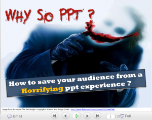 My entry for the Slideshare presentation horror story contest