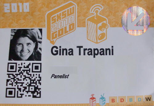Business Card with a QR Code