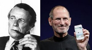 Steve Jobs and David Ogilvy image
